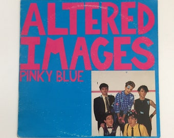 Vintage Altered Images Pinky Blue Vinyl Record LP [1982]