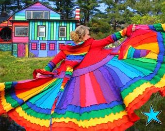 KATWISE Sweater Coat - Rainbow Magic - Tutorial PDF
