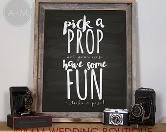 Wedding Sign Instant Printable For Photo Booth 11x14 black chalkboard