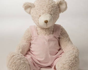 Personalized Blue Beatrice Bear