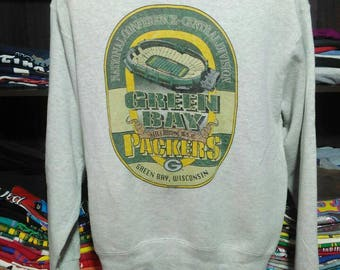Vintage Clothing  ProPlayer Green Bay Pickers Made In USA Copyright 1996 Size L