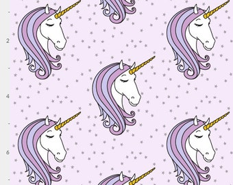 Baby Bedding Crib Bedding - Starry Unicorn Purple Lavender - Baby Blanket, Crib Sheet, Changing Pad Cover, Boppy Cover, Crib Skirt