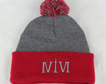 """Toronto 416 toques. The Roman numerals stand for """"416"""", with the """"1"""" resembling the CN Tower. We are Toronto Beautiful."""