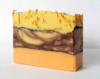Patchouli Orange Soap - Homemade Soap, Vegan Soap, Handmade Soap