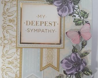 Deepest Symathy greeting card