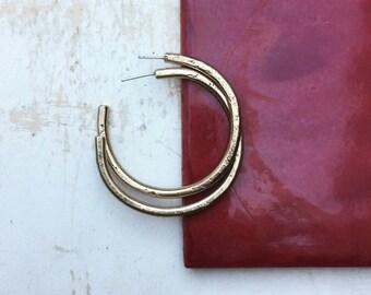 LOKA hoop earrings
