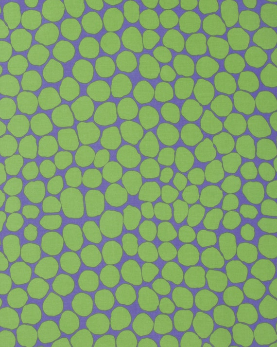 JUMBLE MOSS Green BM053  Brandon Mably  Kaffe Fassett Collective Sold in 1/2 yd increments