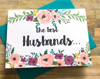 Pregnancy Announcement to Husband Card - Pregnancy Reveal to Husband - New Daddy - We Are Having a Baby - I'm Prego Card - MULBERRY