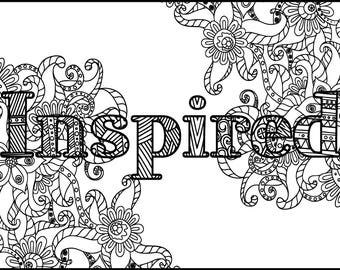 grown up coloring pages inspirational - photo#40