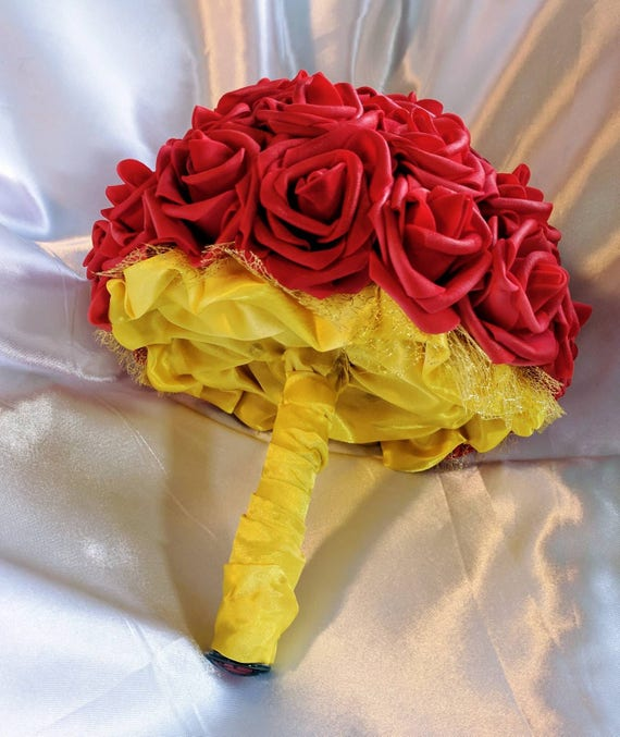 Disneys Beauty And The Beast / Belle Inspired Bouquets For