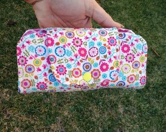 Carteira Case Fran , Large Clutch Handmade Wallet, Card Wallet