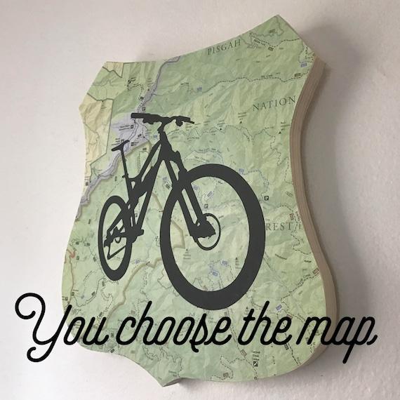 Mountain Bike Plaque