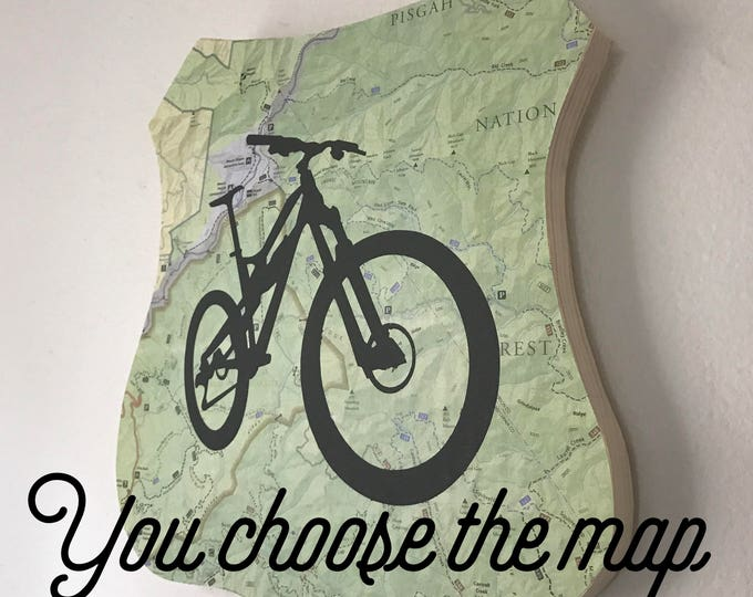 Featured listing image: Mountain Bike Plaque