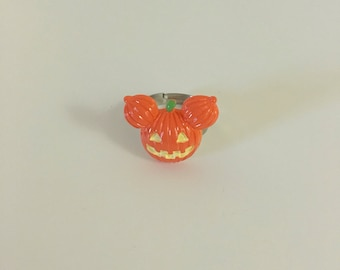 Pumpkin mouse ring