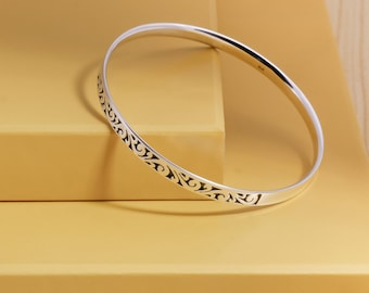 Best Selling, Gergajian Bangle, Balinese Jewelry, 925 Sterling Silver, Fine Quality