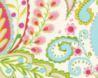 1 Yard -  Teja in Pink /  Dena Designs / Kumari Garden -   Cotton Quilt Fabric