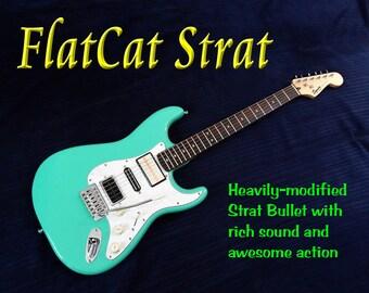 FlatCat Strat Electric Guitar
