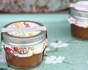 Homemade Peach Honey Butter 4oz
