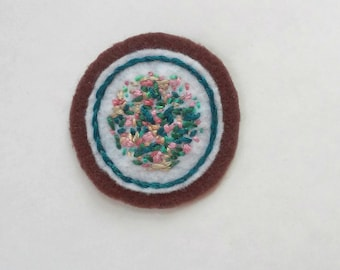 Earthy Spring Patch (pin, badge, brooch, magnet)