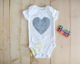 Little Miracle Baby Bodysuit