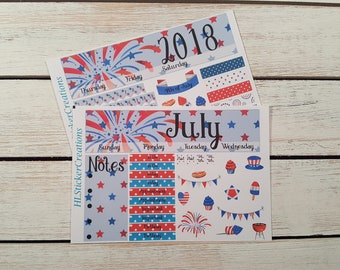 Recollections 4th of July Monthly Kit, 4th of July, Fourth of July, July, Summer, Fireworks, BBQ, 4th of July, Independence Day