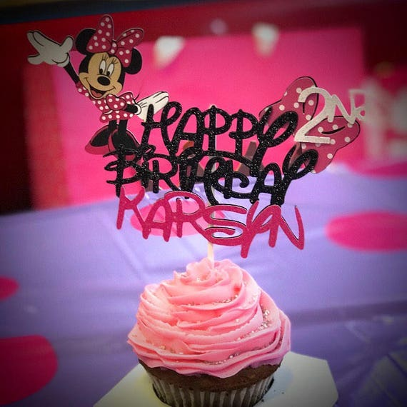 Minnie Mouse Cake TopperMickey Mouse Cake TopperMinnie Cake