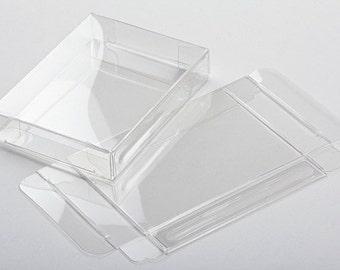 "A2 Clear Card Boxes - 4 1/2"" x 1"" x 5 7/8"""
