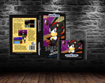 Shadow the Hedgehog - Shadow speeding in Sonic 1 - GEN