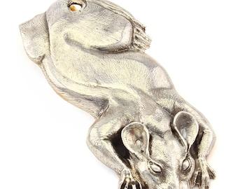 """Silver Banknote clip  """"Rat"""""""