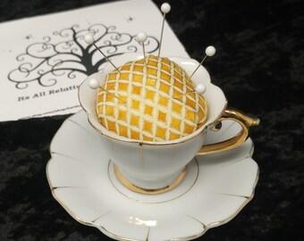Demitasse Cup Pin Cushion