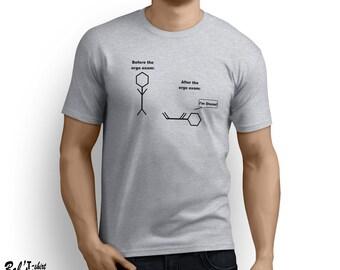 Before the orgo exam T-shirt Organic Chemistry Lab Tee