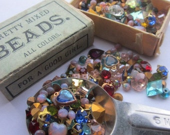 Recipe for fun .....About 50 Vintage Swarovski Gems And Jewels