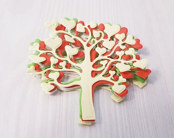 paper tree,paper trees,tree,trees,paper embellishments,paper forest,tree cut out,tree wall art,paper craft,paper decor,gift decor,wrapping