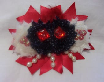 Little Girls or Infant or Baby Headband with Flowers and Embellishments Brand New