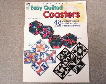 House Of White Birches Quilt Book 141146 Wonderful Coasters 48 Patterns.