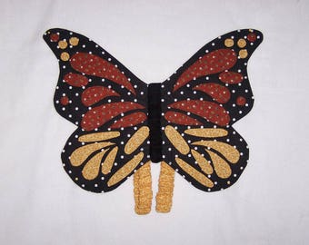Toddler Dress Up Butterfly Wings Make Believe Monarch Butterfly