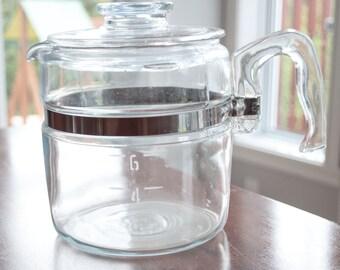 Pyrex Coffee Pot 6 cups