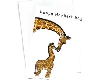 Mother's Day illustrated Greeting Card