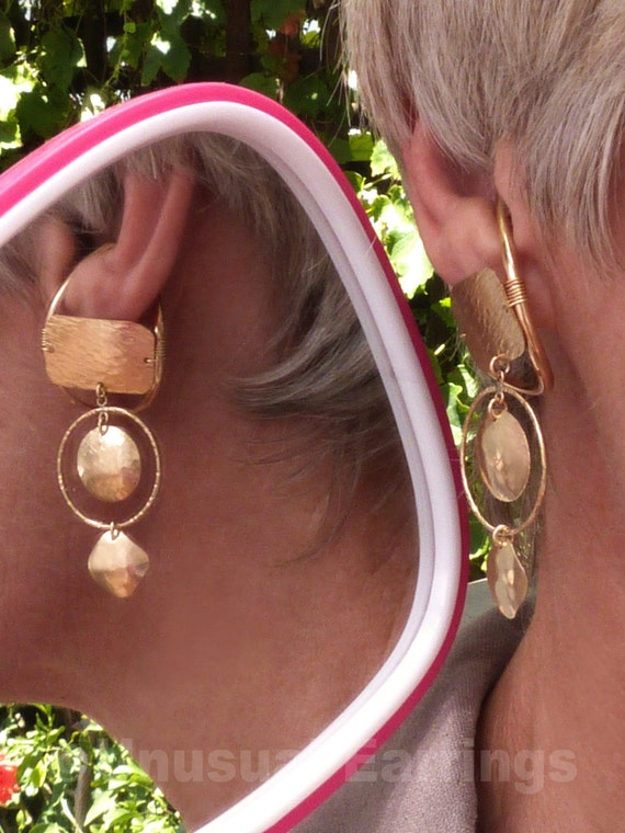 gold filled unpierced earrings non pierced ear cuff gold filled unpierced earrings non pierced earrings ear 9629