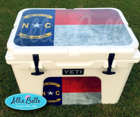 Yeti tundra cooler wrap decal custom yeti cooler decal 3m wrap decal personalized or monogrammed tundra 354550 from alliebelledesigns on etsy studio