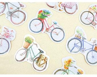 Bicycle Postcard Set of 30 cards