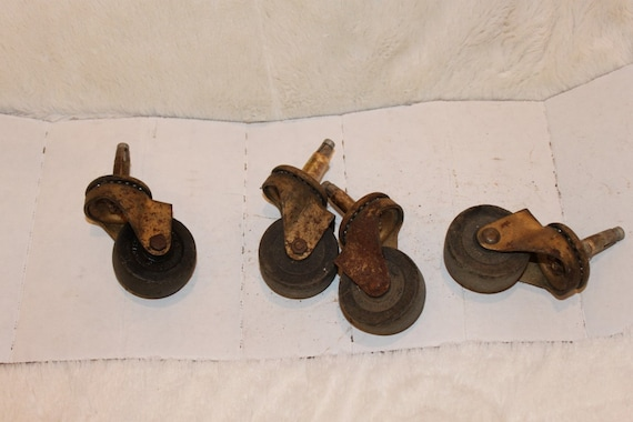 Set Of 4 Vintage Jarvis And Jarvis Furniture Casters From NewMemoryLane On  Etsy Studio