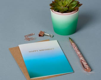 Birthday Card - Happy Birthday - Celebration - Greeting Card - Birthday For Her - Birthday Gift - Blank Card -