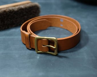 Leather belt, Mens Leather belt, Handmade Leather Belt, Italian Leather Belt, Brown Leather Belt