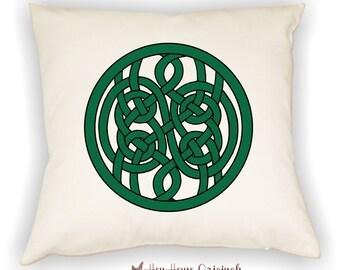Celtic Pillow, Celtic Knot, Celtic Circlet, Celtic Decor, Celtic Art, Home Decor, Square Pillow, Custom Pillow, Celtic Theme