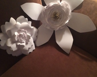 Giant Paper Flower Duo - Set of Two