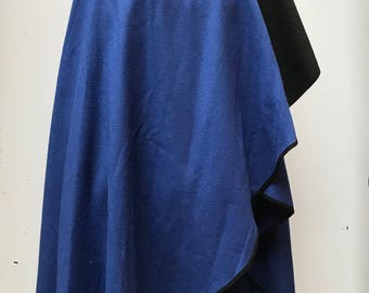 Vintage eighties Windsmoor blanket wrap cloak one size