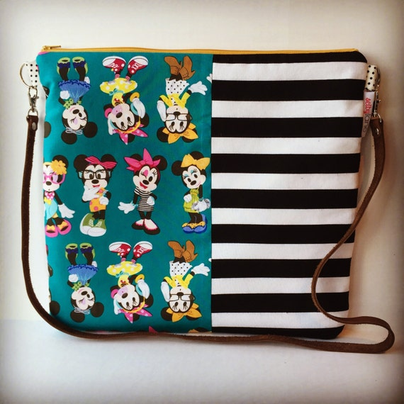 Hipster Minnie Mouse Crossbody Purse