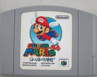 Super Mario 64 - N64 - Japanese Verison - NTSC - Nintendo 64