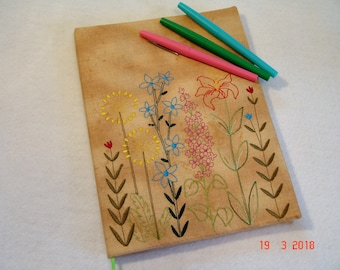 Wildflowers Composition Notebook Cover
